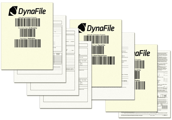 Filing with Barcode Recognition
