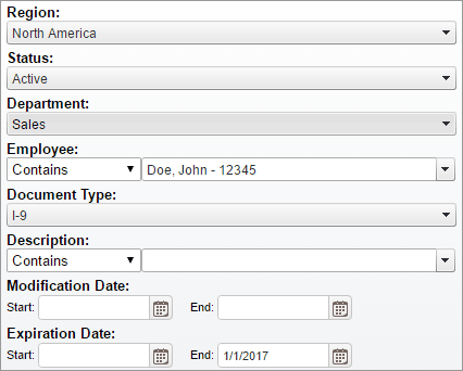 Document Retrieval Metadata Index Search